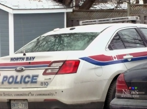 North Bay police officers seized drugs valued at around $1,300.