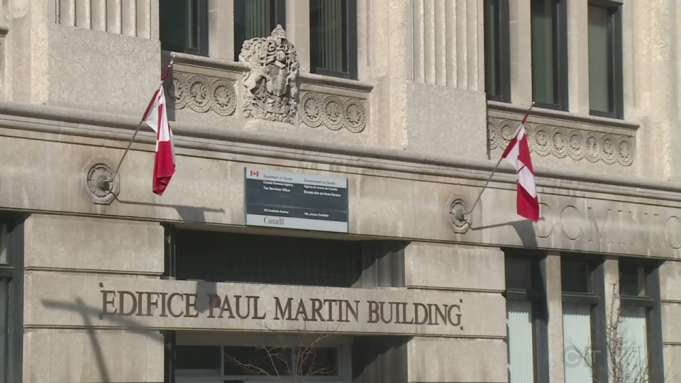 Paul Martin building in Windsor