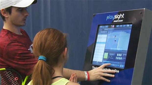 SmartCourt, PlaySight, tennis, Alberta Tennis Cent