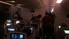 medical emergency air canada flight