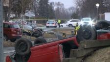 fatal rollover near Algonquin College