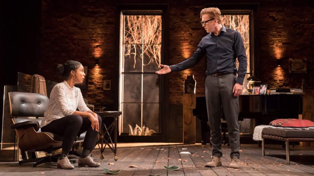 Damian Lewis and Sophie Okonedo in 'The Goat'