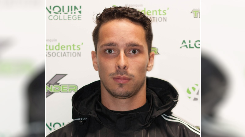 Alex Asmis, 21, was a soccer star and engineering student at Algonquin College. (Algonquin Students' Association)