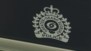 Sudbury police say the pilot was taken to hospital as a precaution.
