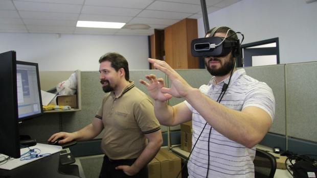 SimWave Vimy Ridge virtual reality experience