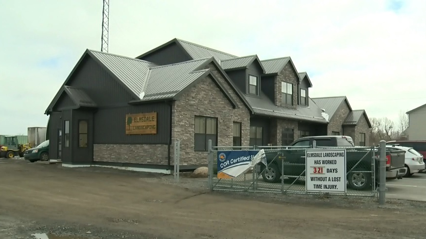 Elmsdale Landscaping Ltd.'s viral job posting encouraged unreliable people not to apply. (CTV Atlantic)