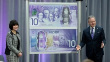 Bank note unveiling