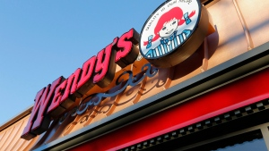 This Friday, March 21, 2014 file photo, shows a Wendy's restaurant in Providence.