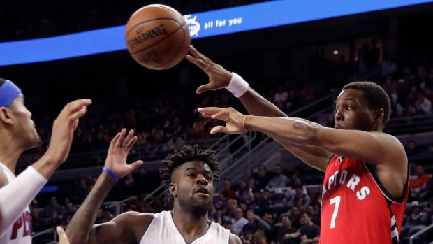 Raptors beat Knicks 110-97, assured of top-3 seed in East