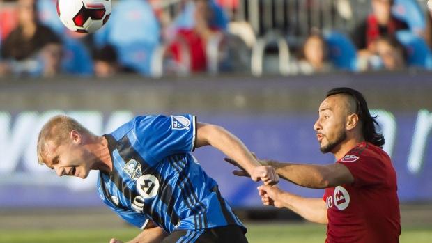 Toronto FC forward Mo Babouli