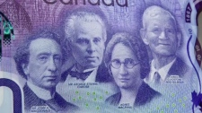 Commemorative $10 bill Canada 150