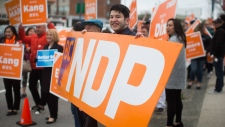 B.C. NDP supporters