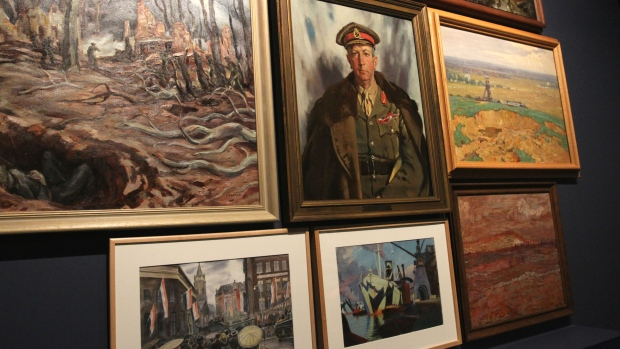 Centenary commemorations for Canadians who gave lives for peace in Europe