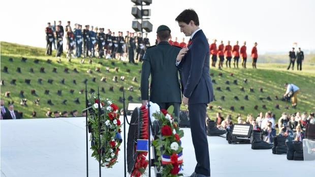 Justin Trudeau Vimy