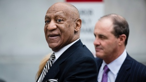 Bill Cosby departs the Montgomery County Courthouse after a pretrial hearing in his sexual assault case in Norristown, Pa. on April 3, 2017. (AP / Matt Rourke)