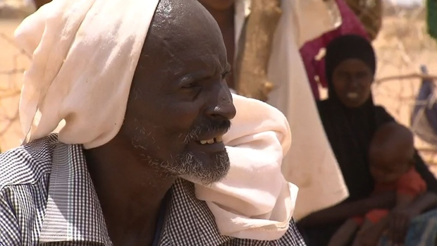 Farah Mohamed has lost dozens of goats