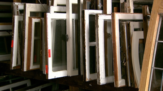 With countless homes being torn down by new buyers, salvaging businesses are trying to change the amount of byproducts that end up at the dump.