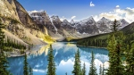 A lake in Alberta's Banff National Park is seen in this undated photo. © MartinM303 / Istock.com