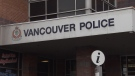 The Vancouver Police Department headquarters is seen in a CTV file image.