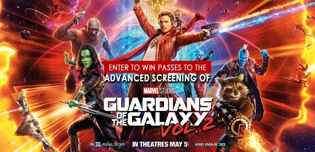 Guardians of the Galaxy Vol 2 Banner