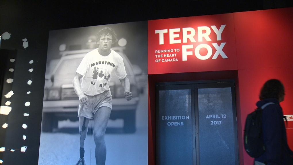 Terry Fox exhibit
