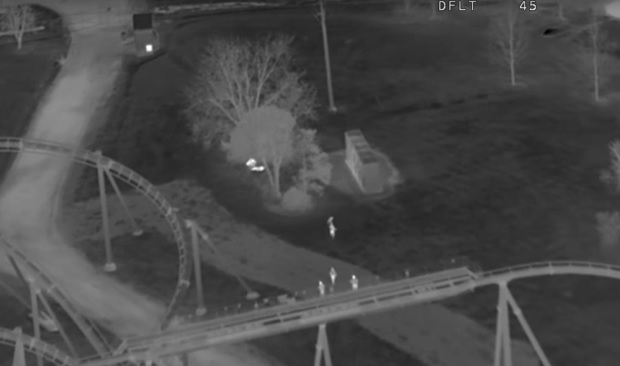 Video released of three youths arrested for theft at Canada's Wonderland