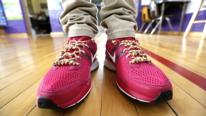 Researchers say they've figured out exactly why shoelaces unravel. (AP Photo/LM Otero)