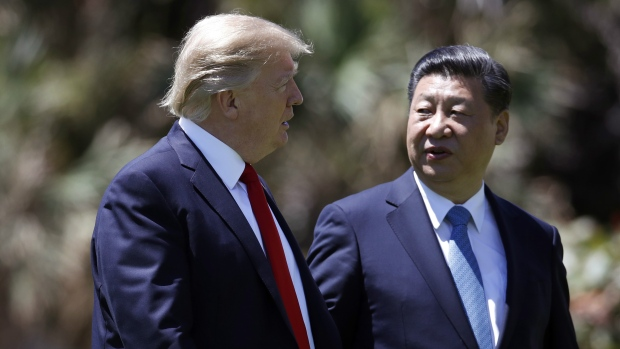 U.S. President Donald Trump, China's Xi Jinping