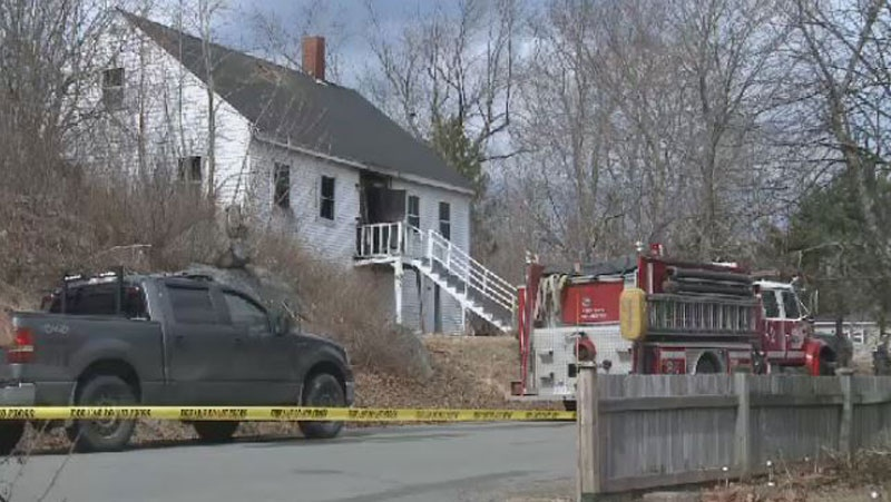 The bodies of an elderly woman and her three sons were found following a house fire in St. George, N.B.