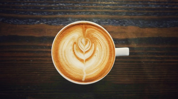 A cafe latte is shown in this file photo.