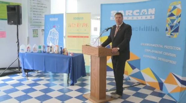 Saskatchewan Environment Minister Scott Moe