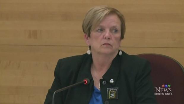 Former Sault ste. Marie Mayor Debbie Amaroso says