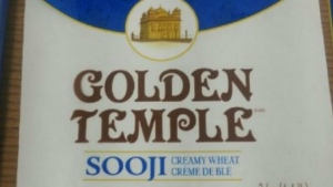 The CFIA has expanded a recall of flour products to include products produced by Ardent Mills, including Golden Temple Sooji creamy wheat. (CFIA)