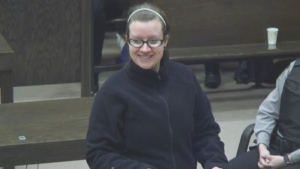 Victoria Henneberry had asked for a new trial on grounds that she panicked when she pleaded guilty to the second-degree murder of Loretta Saunders of Labrador. (The Courts of Nova Scotia)