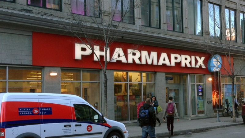 A Pharmaprix store in Montreal on April 13, 2017 (CTV Montreal/Ted Boutsalis)