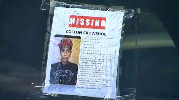 Charges will not be laid in the death of Colton Crowshoe.