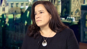 Federal Justice Minister Jody Wilson-Raybould speaks in an interview on CTV's Question Period. (CTV)