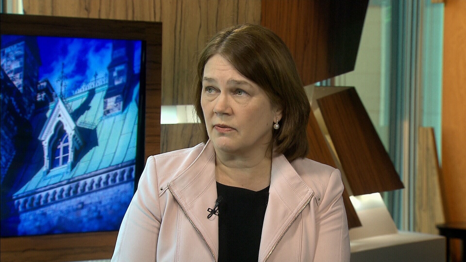 Health Minister Jane Philpott speaks in an interview during CTV's Question Period (CTV).