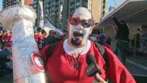 Canadiens fan