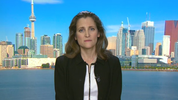 Minister of Foreign Affairs Chrystia Freeland discusses growing tensions in North Korea with CTV's Question Period with Evan Solomon.