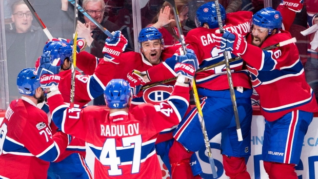 Canadiens beat Rangers to even series 1-1