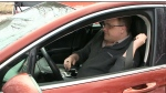 Greg Durling says he won't drive his Ford Fusion until the company fixes his seatbelt.