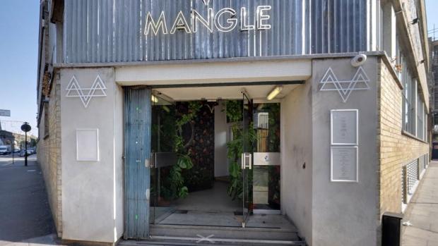 Mangle nightclub in east London. (Google street view)
