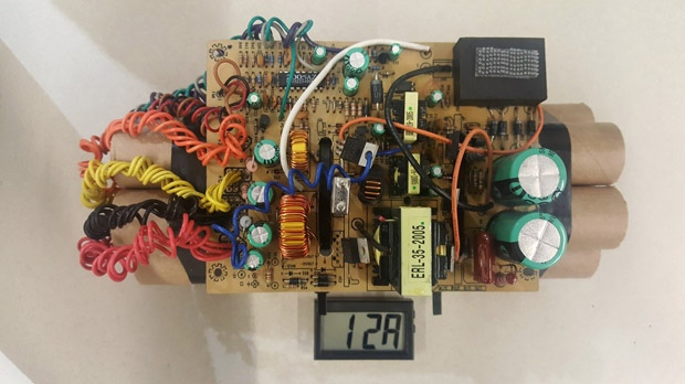 Officials release photo of mock IED found at Toronto airport
