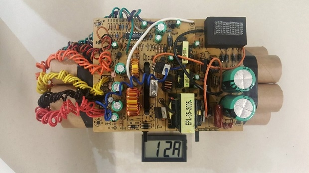 US customs officials release photo of mock IED found at Toronto airport