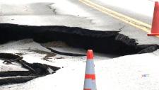 CTV Montreal: Sinkhole in Rawdon