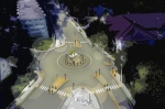 A roundabout is proposed at the beginning of Olde Sandwich Towne in Windsor, Ont. (Courtesy City of Windsor)