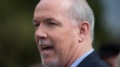 John Horgan speaks in Coquitlam, B.C. in this April 2017 file photo. (THE CANADIAN PRESS/Darryl Dyck)