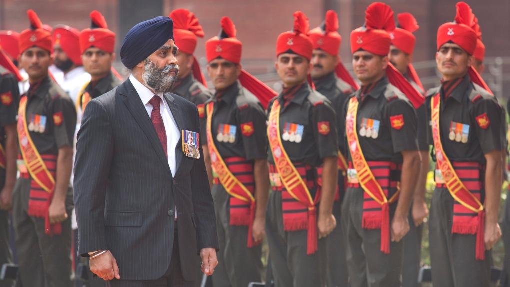 Canadian Defence Minister Harjit Sajjan