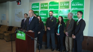 Green Leader Andrew Weaver says his health-care platform aims to promote wellness, emphasize prevention and primary care and create a mental health strategy. Apr. 18, 2017 (CTV Vancouver Island)
